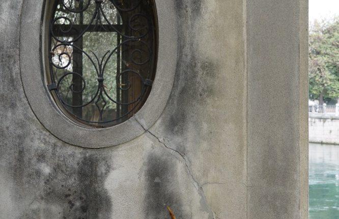 Particolare finestra ovale