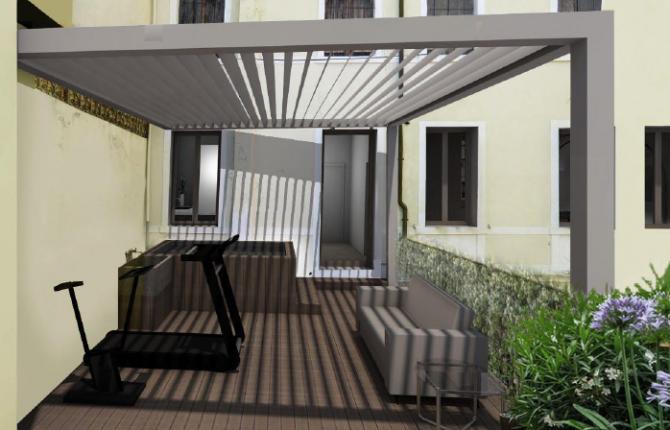 5. Rendering terrazza